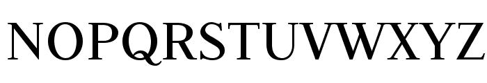 Judson Font UPPERCASE