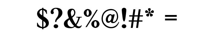 JudsonBold Font OTHER CHARS