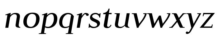 JudsonItalic Font LOWERCASE