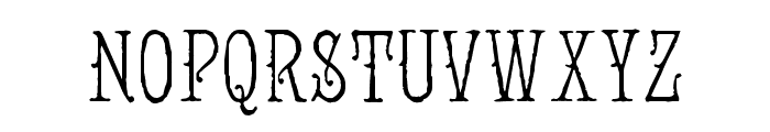 Jugend WF Font UPPERCASE