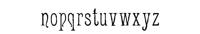Jugend WF Font LOWERCASE