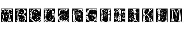 Jugend Font UPPERCASE