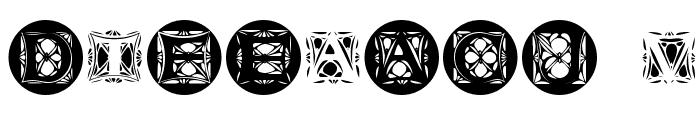 JugendstilCaps Font OTHER CHARS