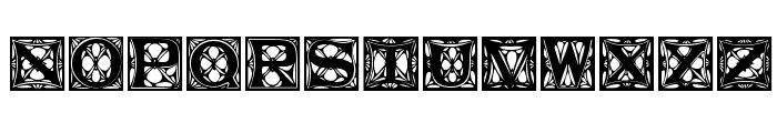 JugendstilCaps Font UPPERCASE