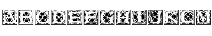 JugendstilCaps Font LOWERCASE