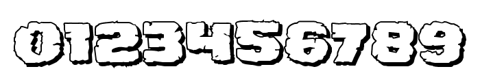 Jugger Rock Shadow Font OTHER CHARS