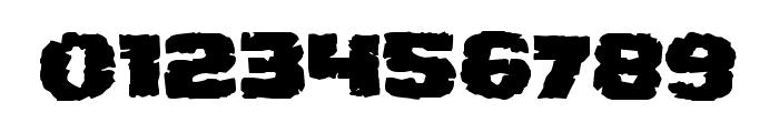 Jugger Rock Font OTHER CHARS