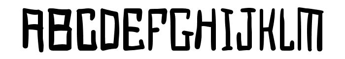 Juggernaut Font LOWERCASE