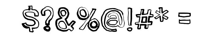 Jugglingoose Font OTHER CHARS