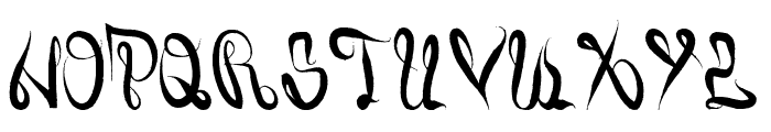 Juiced Font UPPERCASE