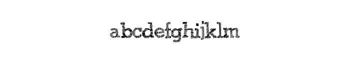 JuicyBoxes Font LOWERCASE