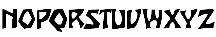 JujuSSK Font UPPERCASE