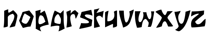 JujuSSK Font LOWERCASE