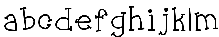 Jukebox Font LOWERCASE