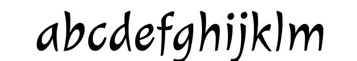 Julee-Regular Font LOWERCASE