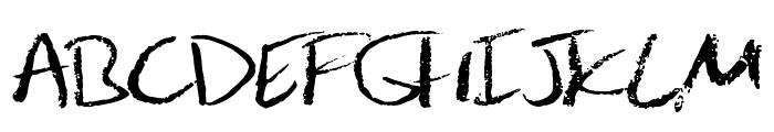 JulesHand Font UPPERCASE