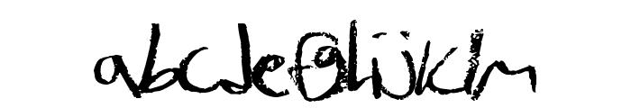 JulesHand Font LOWERCASE