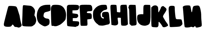 JuliaBooth Font UPPERCASE