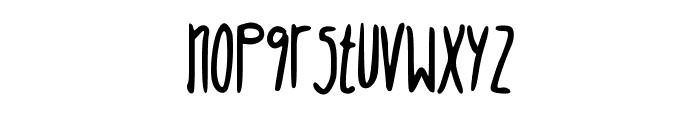 JuliaVintage Font LOWERCASE