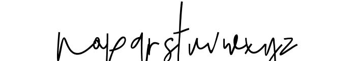 JulianThomas Font LOWERCASE