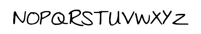 Julies Font UPPERCASE