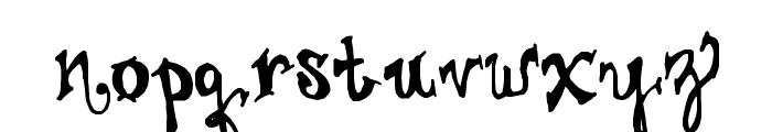 Juliesfancypants Font LOWERCASE