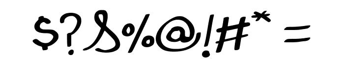 Julios Regular Font OTHER CHARS