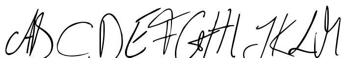 Julliscriptum Reloaded Font UPPERCASE