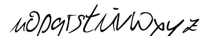 Julliscriptum Reloaded Font LOWERCASE