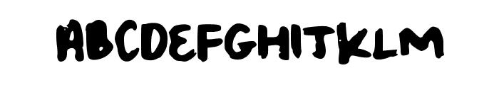 Jum Font UPPERCASE