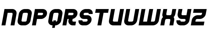 Jumbo Italic Font UPPERCASE