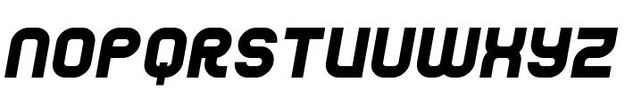 Jumbo Italic Font LOWERCASE