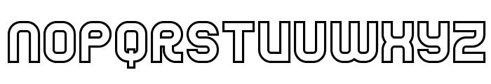 Jumbo Outline Font LOWERCASE