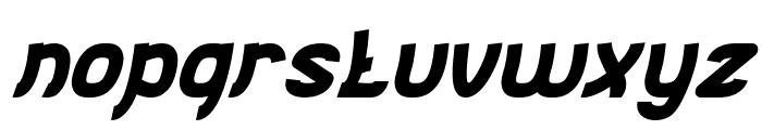 Jumping Running Italic Font LOWERCASE