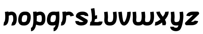 Jumping Running-Light Font LOWERCASE