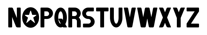 Jumpman Font UPPERCASE