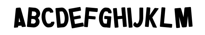 Jumpman Font LOWERCASE