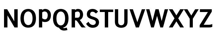 Junction-Bold Font UPPERCASE