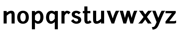 Junction-Bold Font LOWERCASE