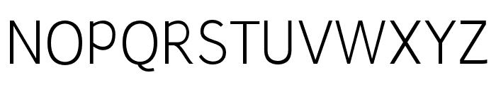 Junction-Light Font UPPERCASE