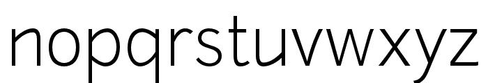 Junction-Light Font LOWERCASE