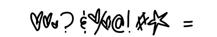 JunesPluto Font OTHER CHARS