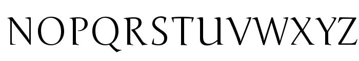 Junge-Regular Font UPPERCASE