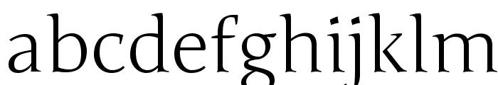 Junge-Regular Font LOWERCASE