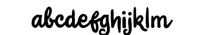 Jungle Boy Font LOWERCASE