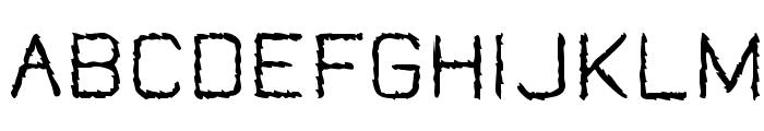 Jungle Burnout Font UPPERCASE
