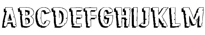 Jungle Roar Regular Font UPPERCASE