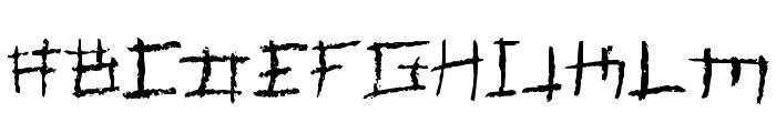 Jungle Font UPPERCASE