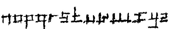 Jungle Font LOWERCASE