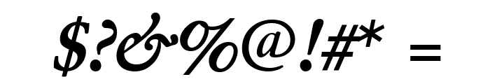 Junicode Bold Italic Font OTHER CHARS